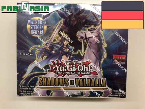 YuGiOh! Shadows in Valhalla Display Deutsch
