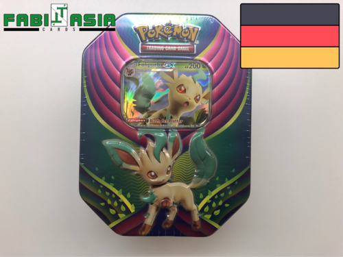 Pokémon Tin 2018 Folipurba GX Deutsch