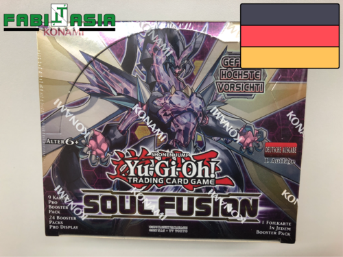 YuGiOh! Soul Fusion Display Deutsch