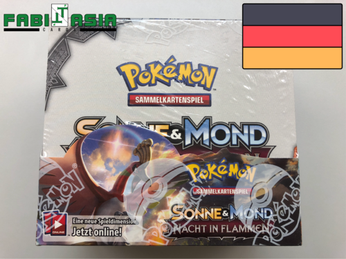 Pokémon SM03 Nacht in Flammen Display Deutsch