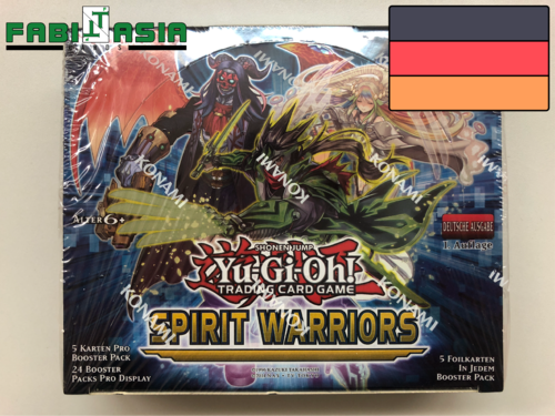YuGiOh! Spirit Warriors Display Deutsch