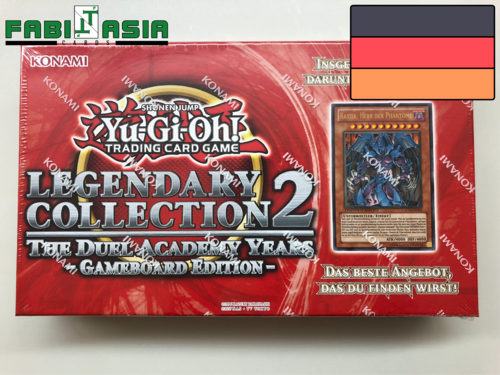 YuGiOh! Legendary Collection 2: The Duel Academy Years Gameboard Edition German