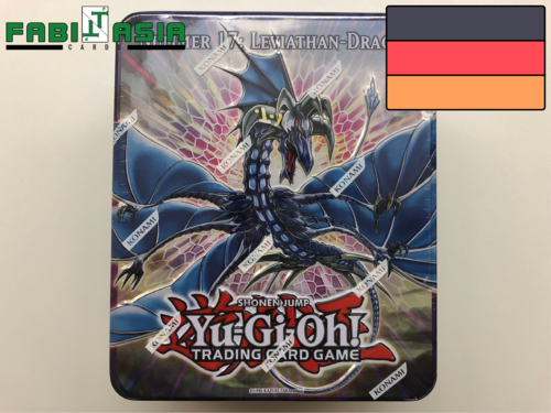 YuGiOh! Collectible Tin 2011 Nummer 17: Leviathan-Drache Deutsch