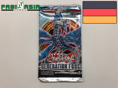 YuGiOh! Generation Force Booster Deutsch