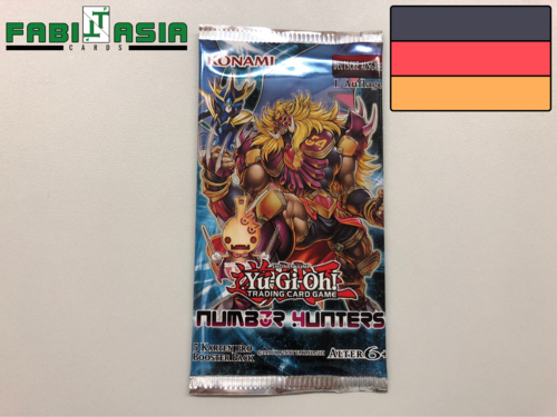 YuGiOh! Number Hunters Booster Deutsch