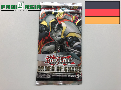 YuGiOh! Order of Chaos Booster Deutsch