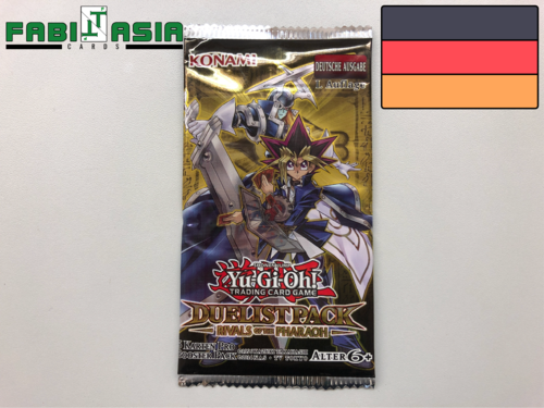 YuGiOh! Duelist Pack: Rivals of the Pharaoh Booster Deutsch