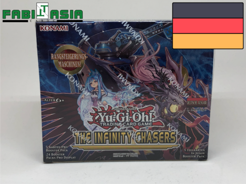 YuGiOh! The Infinity Chasers Display Deutsch