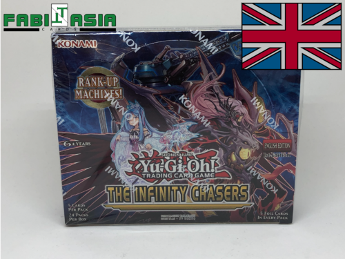 YuGiOh! The Infinity Chasers Display Englisch