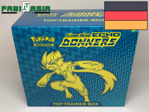 Pokémon SM08 Echo des Donners Trainerbox Deutsch