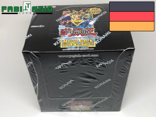 YuGiOh! The Dark Side of Dimensions Movie Pack Gold Edition Display Deutsch