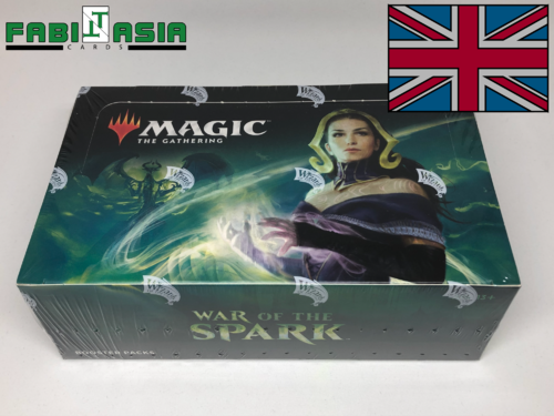 Magic War of the Spark Display English