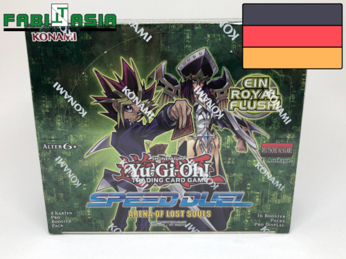 YuGiOh! Arena of Lost Souls Display Deutsch
