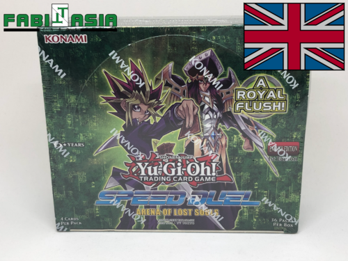 YuGiOh! Arena of Lost Souls Display Englisch