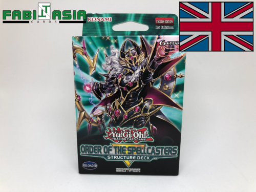 YuGiOh! Structure Deck: Order of the Spellcasters English