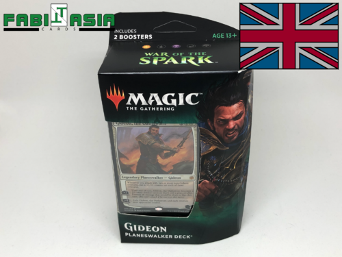 Magic War of the Spark Gideon Planeswalker Deck English