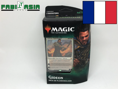 Magic War of the Spark Gideon Planeswalker Deck French