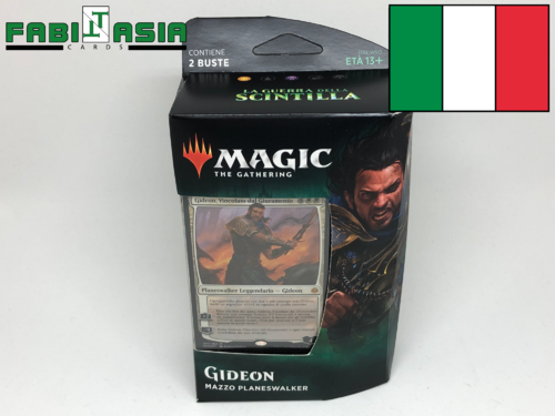 Magic War of the Spark Gideon Planeswalker Deck Italian