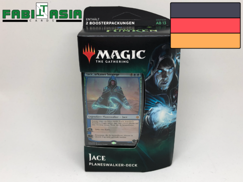 Magic Krieg der Funken Jace Planeswalker-Deck Deutsch