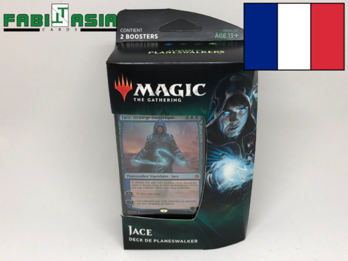 Magic War of the Spark Jace Planeswalker Deck French