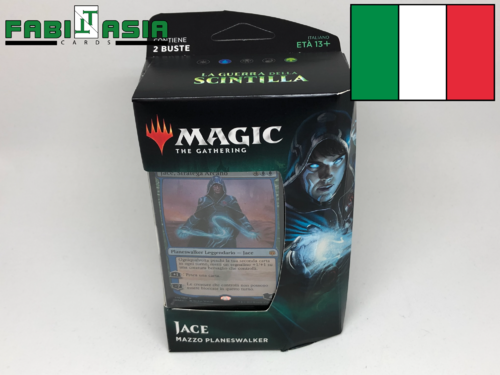 Magic War of the Spark Jace Planeswalker Deck Italian