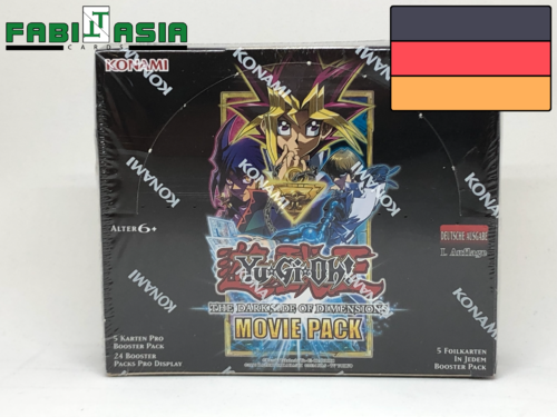 YuGiOh! The Dark Side of Dimensions Movie Pack Display Deutsch