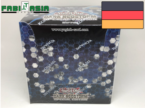 YuGiOh! Dark Neostorm Special Edition Display German