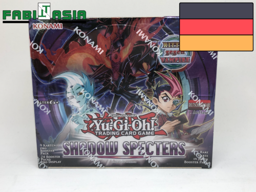 YuGiOh! Shadow Specters Display Deutsch