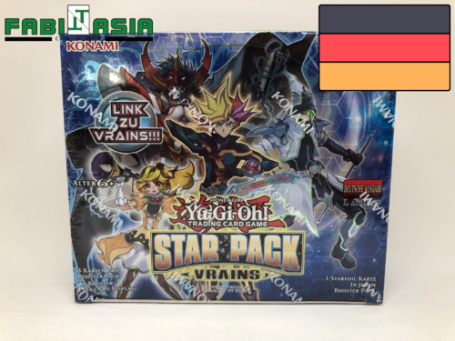 YuGiOh! Star Pack Vrains Display Deutsch