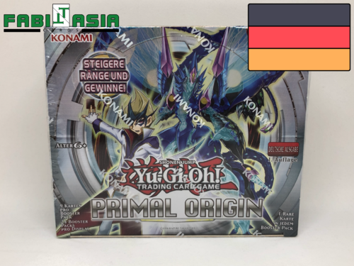 YuGiOh! Primal Origin Display Deutsch