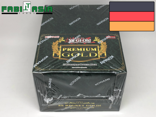 YuGiOh! Premium Gold Display Deutsch