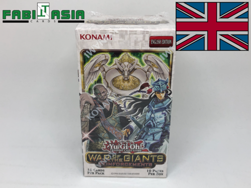 YuGiOh! War of the Giants Reinforcements Display Englisch