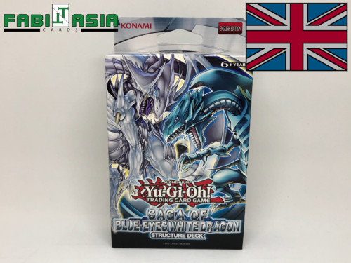 YuGiOh! Structure Deck: Saga of Blue-Eyes White Dragon Englisch
