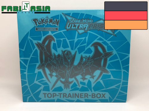 Pokémon SM05 Ultra Prisma Trainerbox (Blau) Deutsch