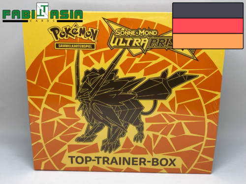 Pokémon SM05 Ultra Prisma Trainerbox (Gelb) Deutsch