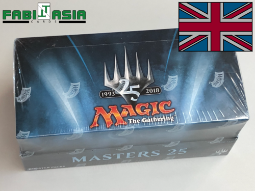 Magic Masters 25 Display Englisch