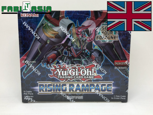 YuGiOh! Rising Rampage Display Englisch