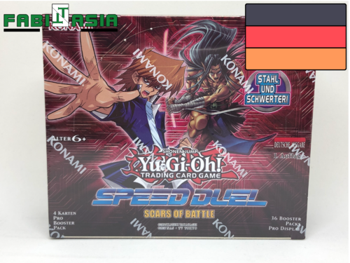 YuGiOh! Scars of Battle Display Deutsch