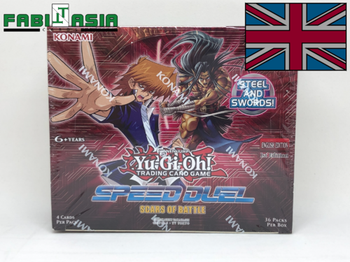YuGiOh! Scars of Battle Display Englisch