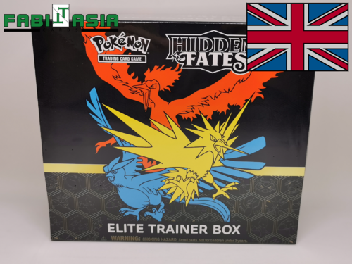 Pokémon SM Hidden Fates Trainerbox English