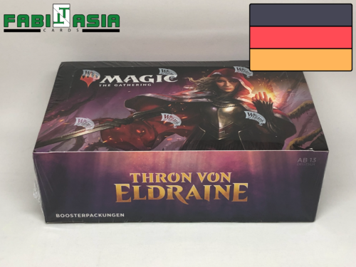 Magic Thron von Eldraine Display Deutsch