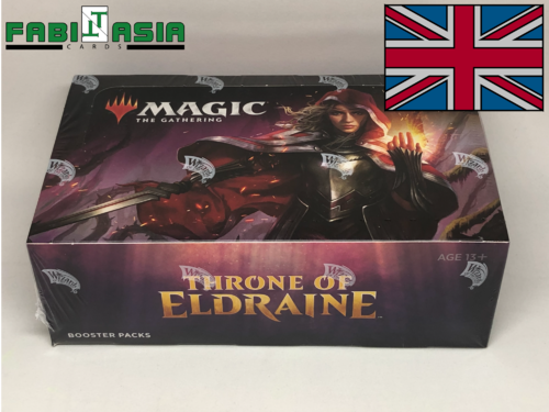 Magic Thron von Eldraine Display Englisch