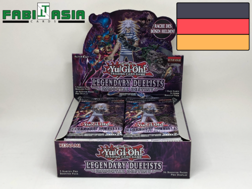 YuGiOh! Legendary Duelists: Immortal Destiny Display Deutsch