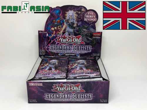YuGiOh! Legendary Duelists: Immortal Destiny Display Englisch
