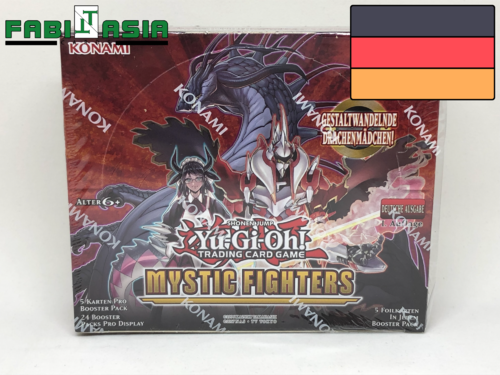 YuGiOh! Mystic Fighters Display Deutsch