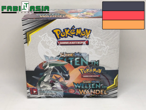Pokémon SM12 Cosmic Eclipse Display German