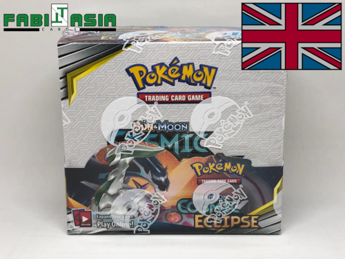 Pokémon SM12 Cosmic Eclipse Display English