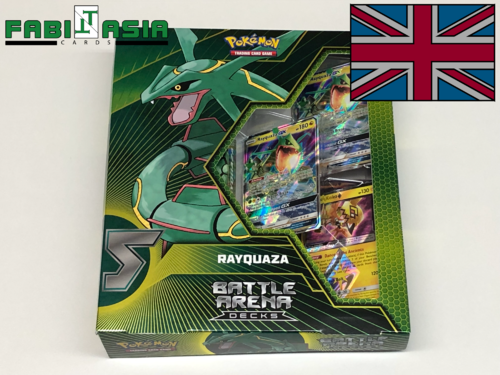 Pokémon Battle Arena Decks Rayquaza English