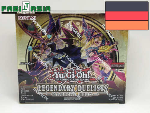 YuGiOh! Legendary Duelists: Magical Hero Display German