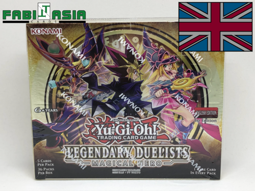 YuGiOh! Legendary Duelists: Magical Hero Display English